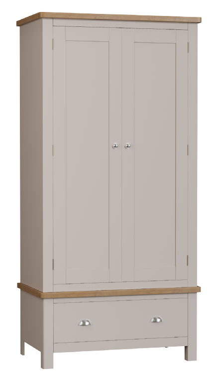 Richmond Painted Oak Gents Wardrobe